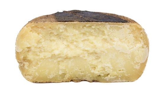 Walnut tree leaf Pecorino cheese