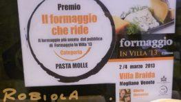 Formaggio in Villa 2013: and the winner is Guffanti!
