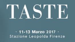 TASTE 2017 - FIRENZE