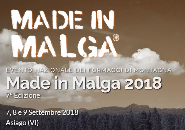 MADE IN MALGA 2018 - ASIAGO